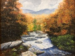 Elk River by David Addison