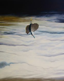Falling Night Heron by Michael Francis Reagan
