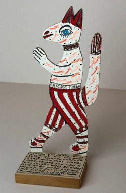 Cricket Man by Howard Finster