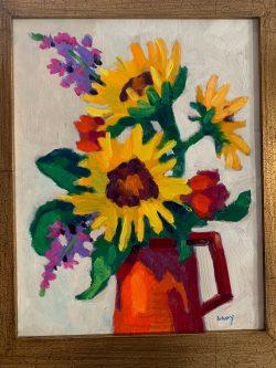Sunflower Bunch by Al Gury