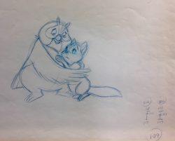 Tod & Big Mama by Walt Disney Studio