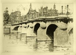 Pont Neuf No. 2 by Aid, George Charles (1872-1938)