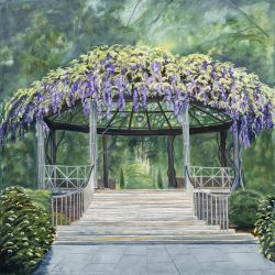 Through The Pergola by Lee Mims