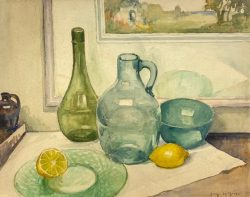 Green Glass and Lemons by Harry DeMaine (1880-1952)