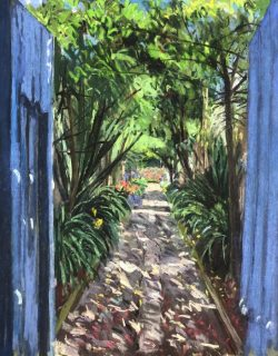 Hacienda Cusin, Ecuador  by Elsie Dinsmore Popkin