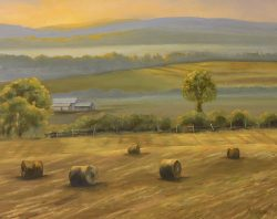 Hay Field, South Branch by David Addison
