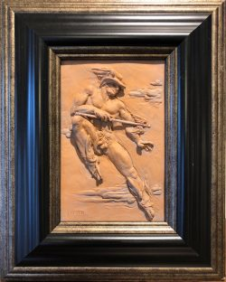 Hermes - Quicker than Thought by Campbell Glynn Paxton