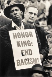 Honor King: End Racism by Burk Uzzle (1938- )
