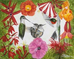 Hummin' Birds #1 by Trena McNabb