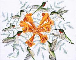 Hummin' Birds #2 by Trena McNabb