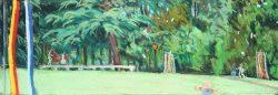 Jamming at Reynolda,  by Elsie Dinsmore Popkin