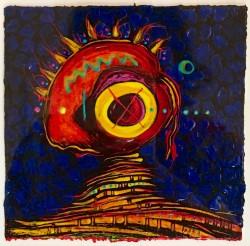 Voodoo Mask #1 by Willie Marlowe