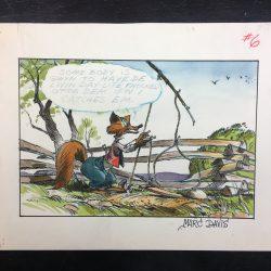 B'rer Fox by Marc Davis, Walt Disney Studio