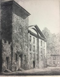 Masonic Temple, New Bern by Louis Orr