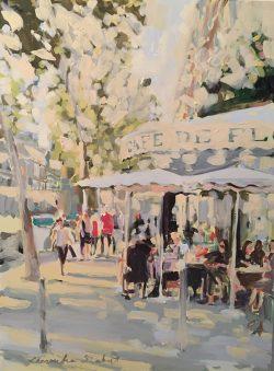 Cafe de Flore by Laura Lacambra Shubert