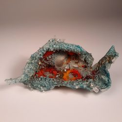 Jeweled Crustacean by Sally Resnik Rockriver