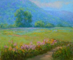 The Blue Hern Farm by Julia Lesnichy