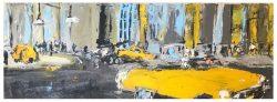 La Vida Cuba - Yellow Cars by Ana Guzman
