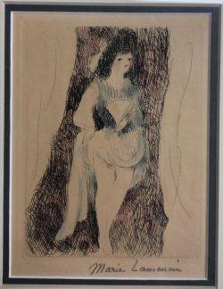 La Fettes Espagnole  by Marie Laurencin (1883-1956)