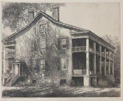 Leigh House, Near Edenton, NC by Louis Orr