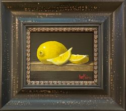 Lemon and 2 Slices by Bert Beirne