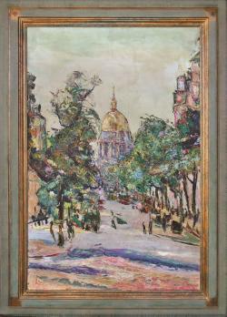 Les Invalides, Paris by Wladimir de (Wlodzimierz)  Terlikowski