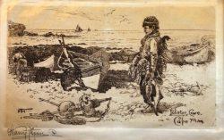 Lobster Cove, Cape Ann by Harry  Fenn