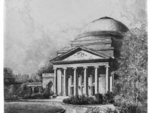 Woman's College Auditorium (Baldwin), Duke by Louis Orr
