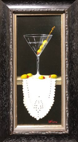 Martini with Seven Olives by Bert Beirne