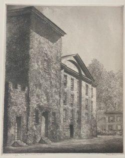 Masonic Temple, New Bern, NC by Louis Orr