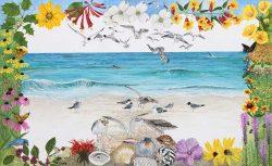 Beach Border by Trena McNabb