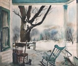 The Porch by Philip Moose (1921-2001)