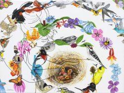 Mother Earth - Birds by Trena McNabb