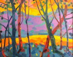 Mountain Sunrise by Al Gury