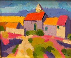 Mountain Village by Al Gury