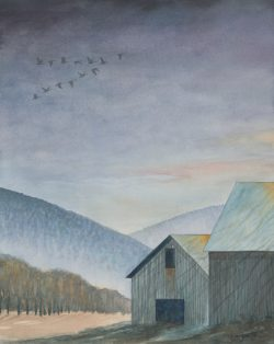 Night Flyers II by Michael Francis Reagan
