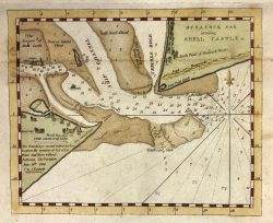 Ocracoke Inlet Survey  by Edumnund M. Bluecat  (1770-1862)