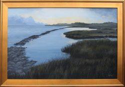 Ocracoke Breakwater by David Addison