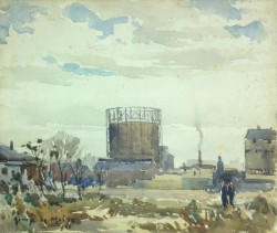 Oil Tank by Harry DeMaine