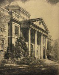 Daniel Harvey Hill Memorial Library by Louis Orr