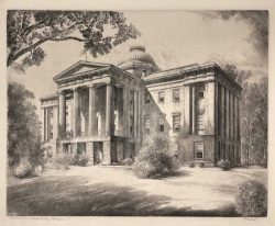 North Carolina State Capitol by Louis Orr
