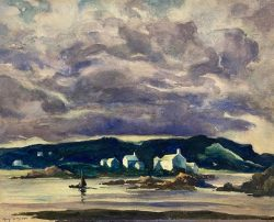 Passing Storm by Harry DeMaine (1880-1952)