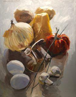 Petite Dejeuner by Laura Lacambra Shubert