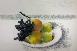 Still Life with Black Grapes by Pittman, Hobson (1899-1972)