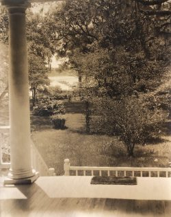 Plantation View off Porch by Bayard Wootten