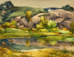 Pool in the Moors by Harry DeMaine (1880-1952)