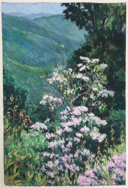 Mountain Laurel by Elsie Dinsmore Popkin (1937-2005)