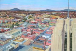 View from Winston Tower by Popkin, Elsie Dinsmore (1937-2005)