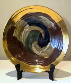 Celebration Bowl by Sally Bowen Prange (1927 - 2007)