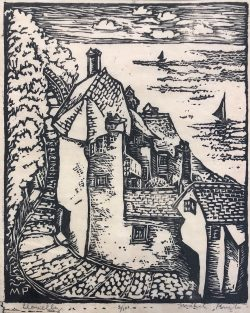 Clovelly by Mabel Pugh (1891-1986)